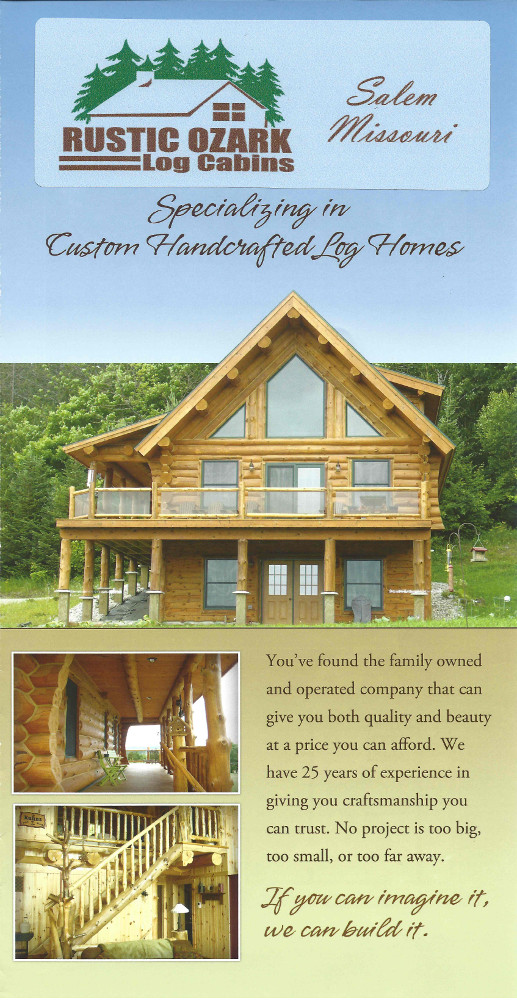 Here are a few samples of the cabin layouts we offer. Click on the ...