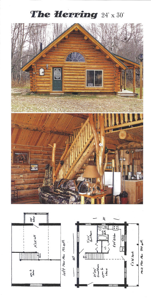 Cabin Plans Rustic Ozark Log Cabins