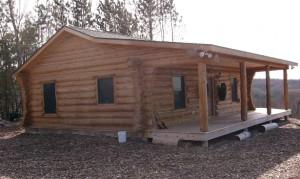 Rustic Ozark Cabin small