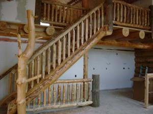 Rustic Ozark Stairs & Rails