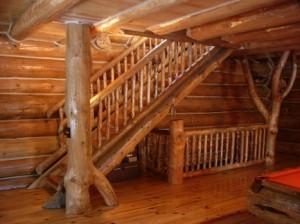 Rustic Ozark Stairs 5