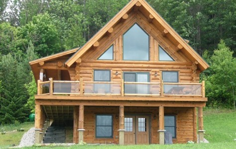 Rustic ozark log cabins the highest quality log cabins for Build rustic log cabin