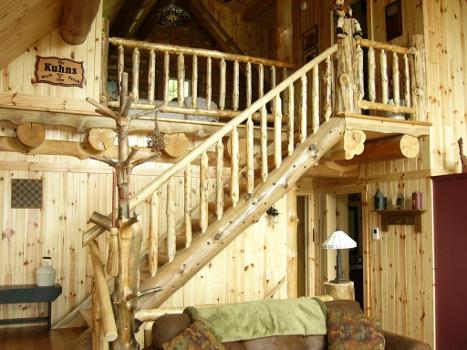 Merveilleux Rustic Ozark Stairs U0026 Rails ...