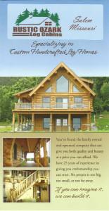 Ozark Rustic Cabins brochure 1a
