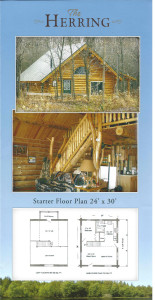 Ozark Rustic Cabins brochure 1c