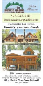 Ozark Rustic Cabins brochure 2a