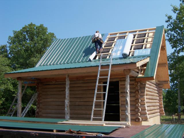 Jobs In Progress Rustic Ozark Log Cabins