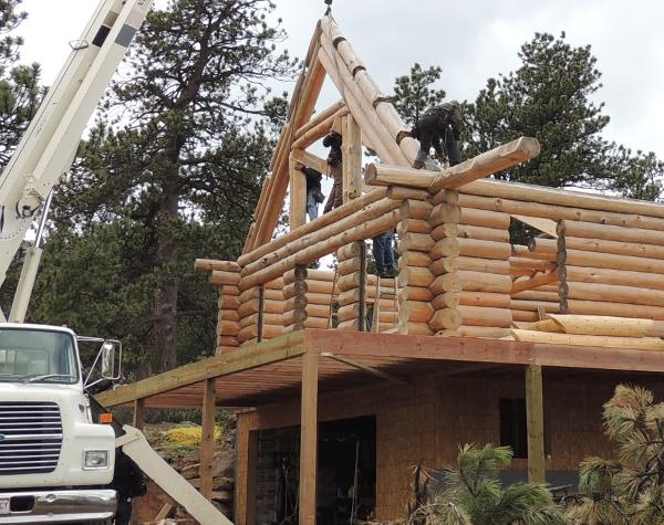 The Pondorasa Cabin in Colorado