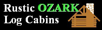 Rustic Ozark Log Cabins logo